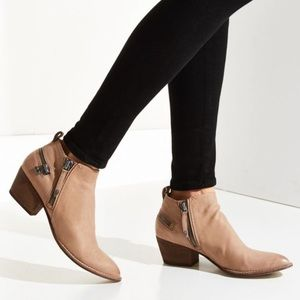 Dolce Vita Saylor Ankle Booties Zippers Leather